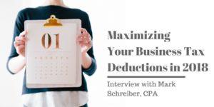 Maximize Business Tax Deductions - Mark S