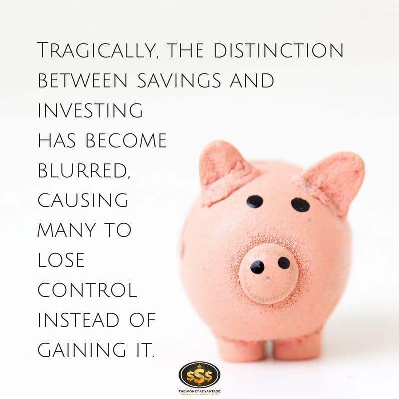 Saving vs Investing - What is Savings