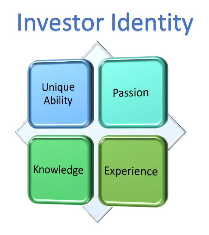 Investor Identity is Unique Ability, Passion, Knowledge, and Experience