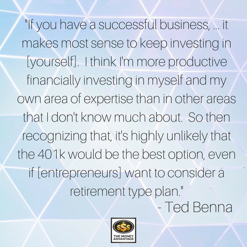 Ted Benna Reflections from the Father of the 401k