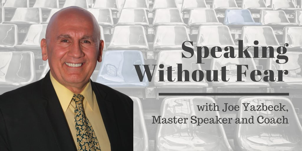 Speaking Without Fear Joe Yazbek