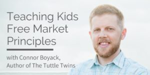 Tuttle Twins Author Connor Boyack