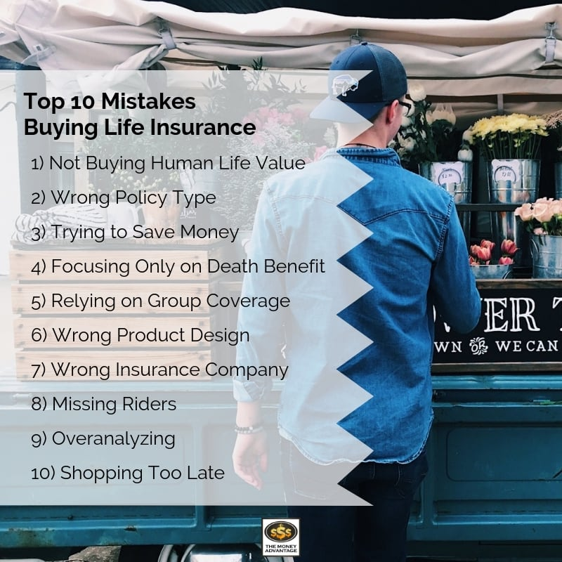 10 Mistakes Buying Life Insurance