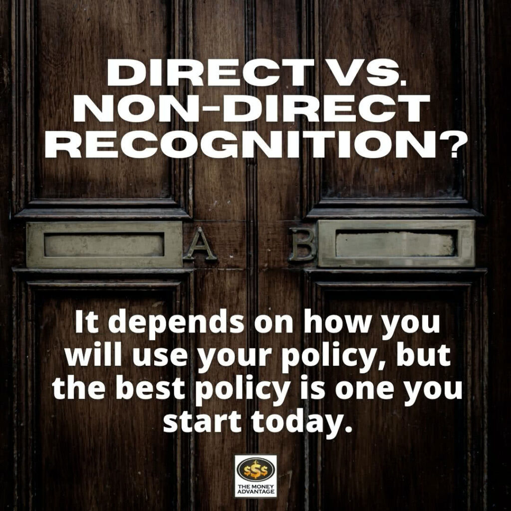 Direct vs. Non-Direct Recognition