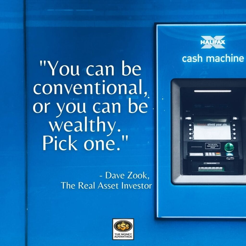 Dave Zook Investing in ATMs